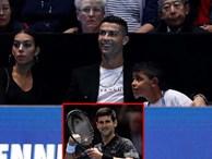 Gia đình Ronaldo tiếp sức giúp Djokovic chiến thắng