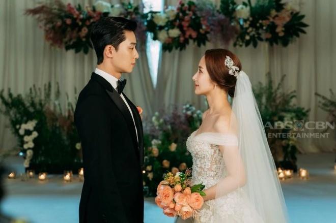 Lộ ảnh cưới tuyệt đẹp trong hôn lễ ngọt ngào viên mãn của cặp đôi chính trong Thư ký Kim-4
