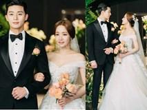 Lộ ảnh cưới tuyệt đẹp trong hôn lễ ngọt ngào viên mãn của cặp đôi chính trong 'Thư ký Kim'