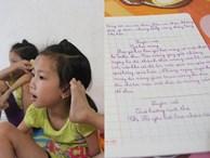 Có con gái là cô bé 'chim cánh cụt', bố mẹ rơi nước mắt nhìn con tập viết, tập đi