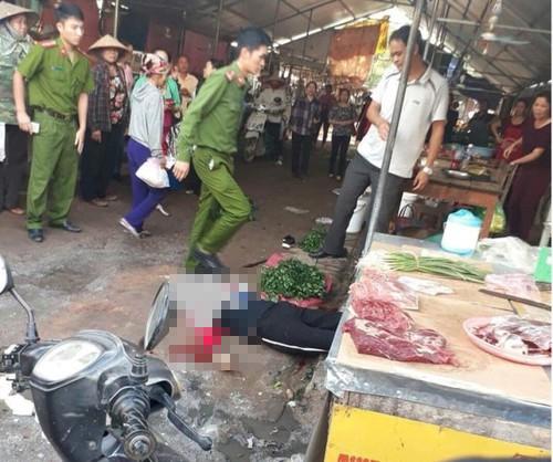 Vụ cô gái bị thanh niên bắn tử vong khi đang bán hàng ở chợ: Nghi phạm có tình cảm với nạn nhân-1