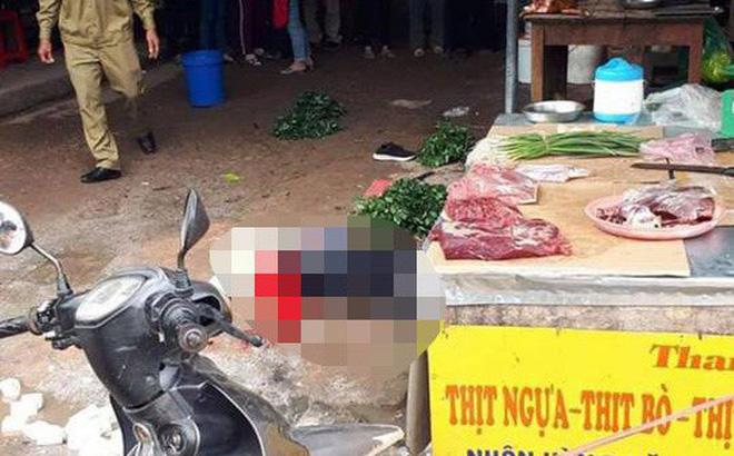 Vụ cô gái bán đậu bị bắn tử vong giữa chợ: Trên người kẻ gây án có 3 khẩu súng-1