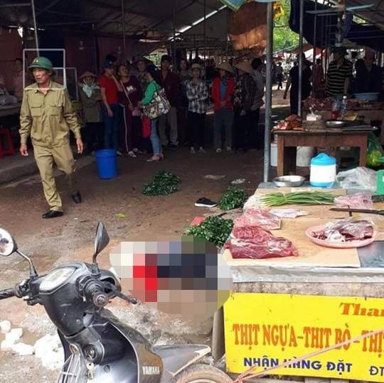 Vụ cô gái bán đậu bị bắn tử vong giữa chợ: Trên người kẻ gây án có 3 khẩu súng-2