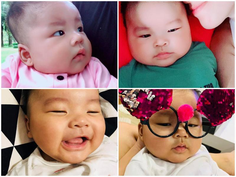 Chân dung cậu con trai 3 tháng tuổi sắp lên chức anh của Hải Băng - Thành Đạt-4