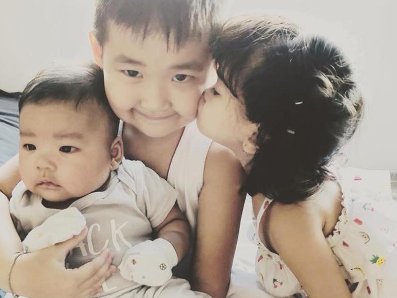 Chân dung cậu con trai 3 tháng tuổi sắp lên chức anh của Hải Băng - Thành Đạt-9