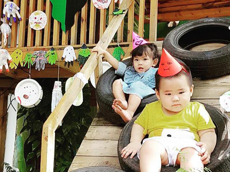 Chân dung cậu con trai 3 tháng tuổi sắp lên chức anh của Hải Băng - Thành Đạt-14