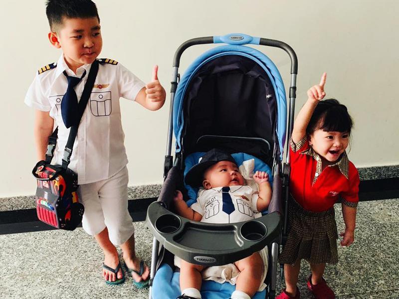 Chân dung cậu con trai 3 tháng tuổi sắp lên chức anh của Hải Băng - Thành Đạt-16