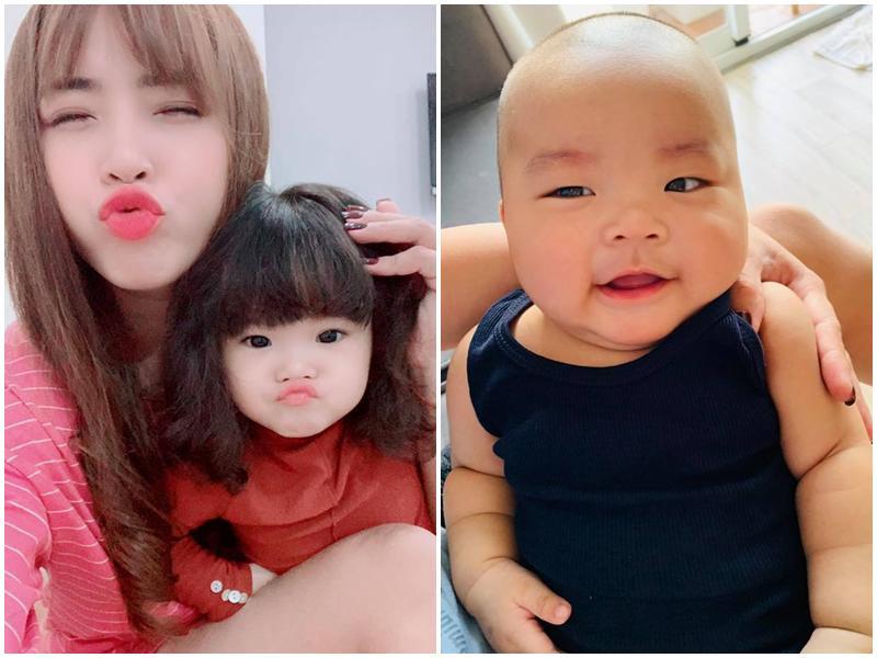 Chân dung cậu con trai 3 tháng tuổi sắp lên chức anh của Hải Băng - Thành Đạt-17