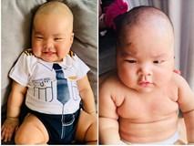 Chân dung cậu con trai 3 tháng tuổi sắp lên chức anh của Hải Băng - Thành Đạt