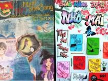 Những trang báo tường sáng tạo dịp 20/11: Đến cả Harry Potter và 'Diên Hi công lược' cũng được đưa vào