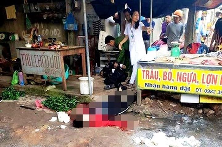 Người phụ nữ bị bắn chết ở chợ Hải Dương: Cái chết đã được báo trước?-1