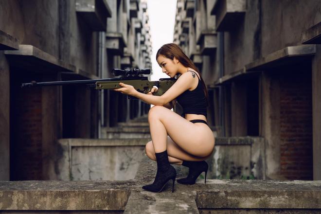 Lộ ảnh vóc dáng chưa qua photoshop của hot girl ngủ gật Hưng Yên nổi tiếng MXH nhờ gợi cảm-2