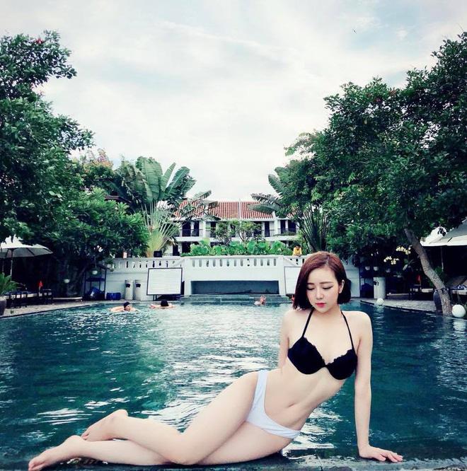 Lộ ảnh vóc dáng chưa qua photoshop của hot girl ngủ gật Hưng Yên nổi tiếng MXH nhờ gợi cảm-4
