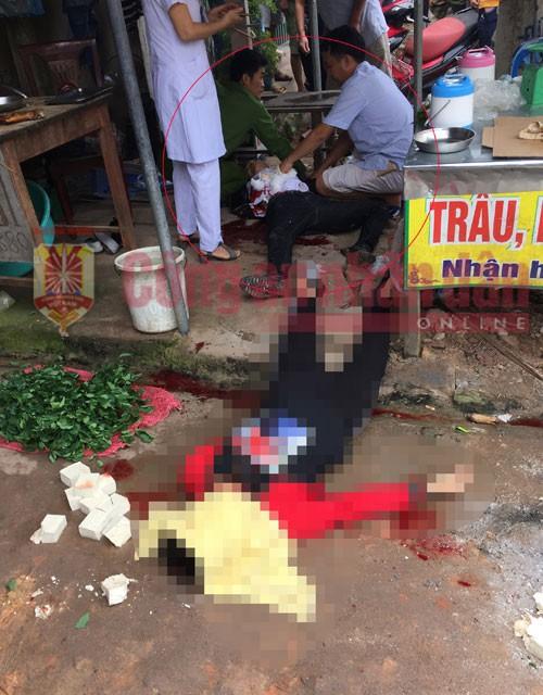 Vụ người phụ nữ bị bắn chết tại chợ: Hé lộ nguyên nhân và nội dung tin nhắn của hung thủ-1