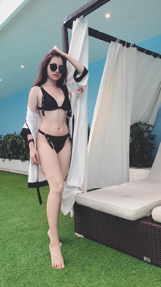 Vẻ nóng bỏng của tình mới kém Dương Khắc Linh 13 tuổi-5
