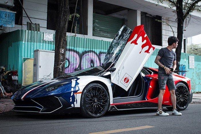 Minh Nhựa bán siêu xe Lamborghini Aventador SV 35 tỷ-4