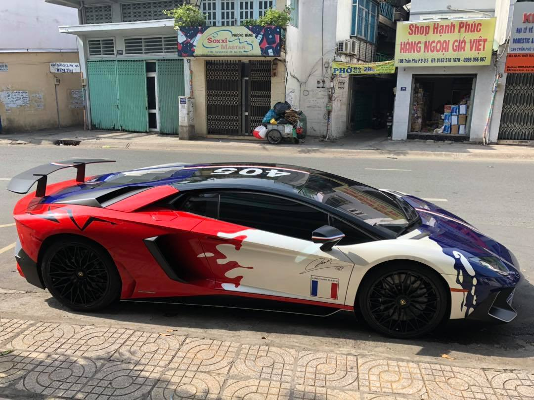 Minh Nhựa bán siêu xe Lamborghini Aventador SV 35 tỷ-2