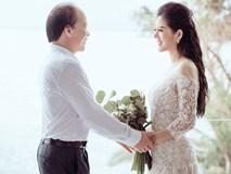 Bộ ảnh cưới lãng mạn của ca sĩ Đinh Hiền Anh và Thứ trưởng Bộ Tài chính