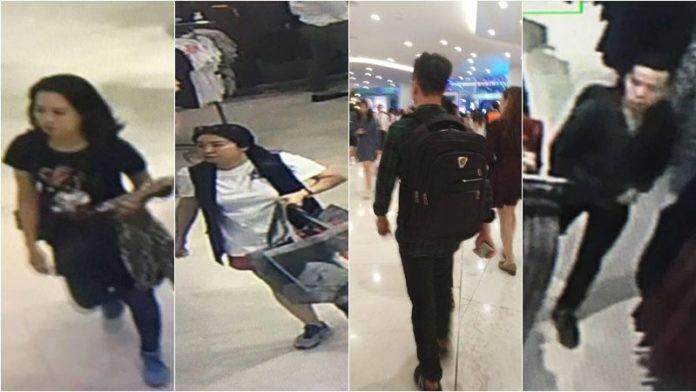 Cảnh sát Bangkok bắt giữ 4 người Việt nghi trộm quần áo hàng hiệu từ cửa hàng H&M-1
