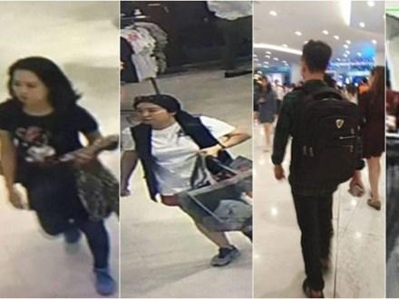 Cảnh sát Bangkok bắt giữ 4 người Việt nghi trộm quần áo hàng hiệu từ cửa hàng H&M