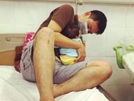Con 13 ngày tuổi bị nhiễm virus RSV, mẹ Việt cảnh báo: 'Đằng sau nụ hôn là cánh cửa bệnh viện'