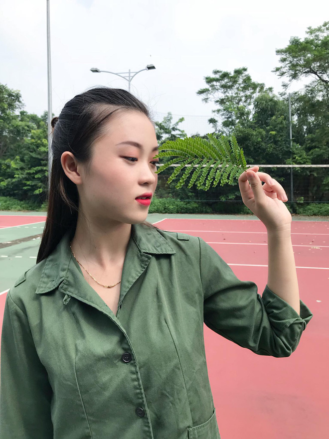 Đã tìm ra cô gái xinh đẹp nhất trường Đại học Nội vụ năm 2018-4
