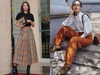 Khánh Linh, Chi Pu mix đồ ấn tượng với tông màu camel chuẩn trend xuống phố