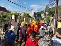 Đau xót đám tang 4 người trong gia đình thầy giáo bị vùi lấp ở Nha Trang