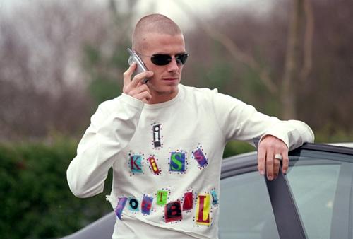 Trước khi mặc đẹp nhất thế giới, Beckham từng lao đao vì mặc thảm họa-4