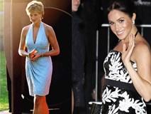 Diện trang phục hở bạo, khoe thân hình ngày càng nở nang, Meghan bị chỉ trích vì kém tinh tế hơn mẹ chồng Diana