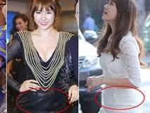 Hari Won bị soi mói chuyện ăn uống, tăng cân vì có bầu?