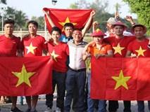 CĐV Việt Nam ùn ùn kéo tới sân Thuwunna tiếp lửa tuyển Việt Nam