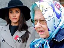 Nữ hoàng Elizabeth không ít lần phật ý vì style của Meghan Markle và còn có phản ứng