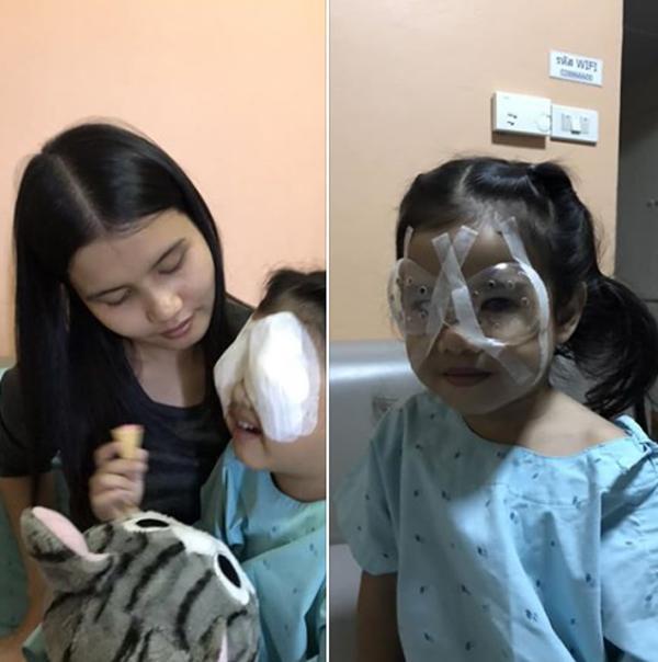 Hành động sai lầm của cha khi cho con ăn cơm khiến bé gái 4 tuổi phải phẫu thuật mắt-2