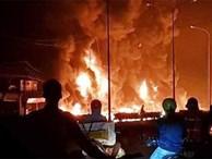 Xe bồn chở xăng tông cột điện rồi bốc cháy kinh hoàng, ít nhất 6 người tử vong