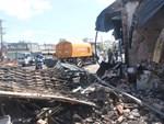 Hiện trường đổ nát sau vụ cháy kinh hoàng ở Bình Phước khiến 6 người tử vong, trong đó có 2 trẻ nhỏ-22