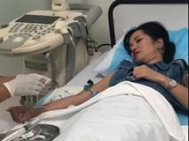 Giữa ồn ào nghi vấn ly hôn vì chồng ngoại tình, Diva Hồng Nhung bất ngờ nhập viện