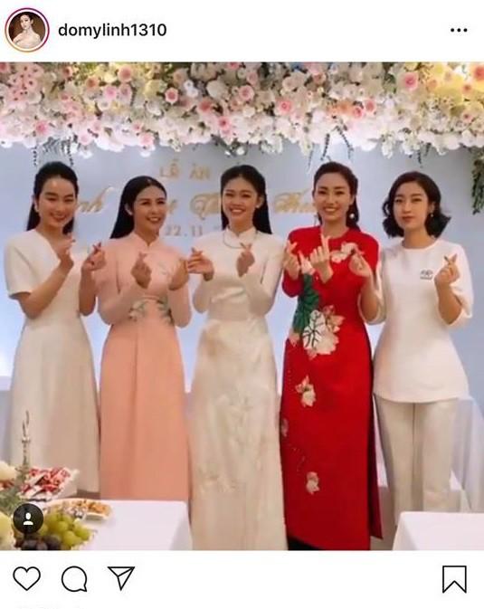 Á hậu Thanh Tú được đại gia U40 xin cưới, đàn chị Ngọc Hân tiết lộ bí mật ít ai ngờ-1