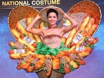 H'Hen Niê mặc trang phục bánh mì, ao ước đoạt vương miện Hoa hậu Hoàn vũ