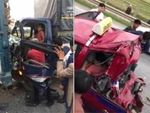 Tài xế bị tông 2 lần liên tiếp trên cao tốc Hà Nội – Thái Nguyên, nhập viện trong tình trạng nguy kịch