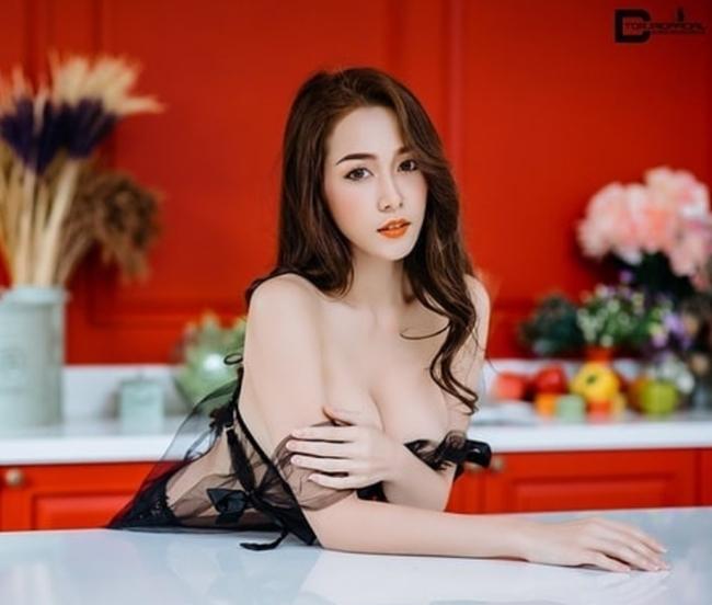 Nữ tú Thái Lan thi nhau khoe bảo bối dáng đẹp khi nấu bếp-19