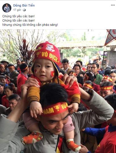 Quang Hải, Bùi Tiến Dũng: Chúng tôi không cần pháo sáng-2