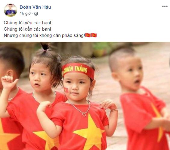 Quang Hải, Bùi Tiến Dũng: Chúng tôi không cần pháo sáng-3