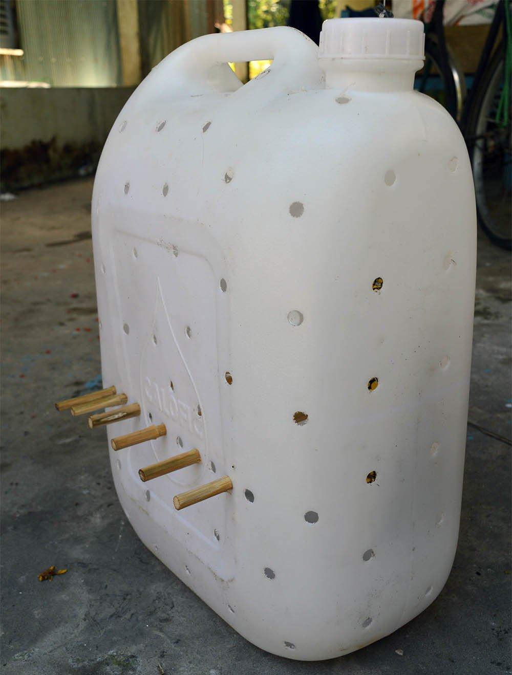 Chuyện lạ miền Tây: Phát hãi ngàn con lươn lúc nhúc trong cái can nhựa-2