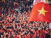 14.000 CĐV trên sân Hàng Đẫy chung vui với ĐT Việt Nam sau trận thắng Campuchia