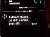Bồ cũ của chồng thản nhiên nhắn tin gạ tình, vợ bầu được tư vấn cách xử lý siêu thông minh