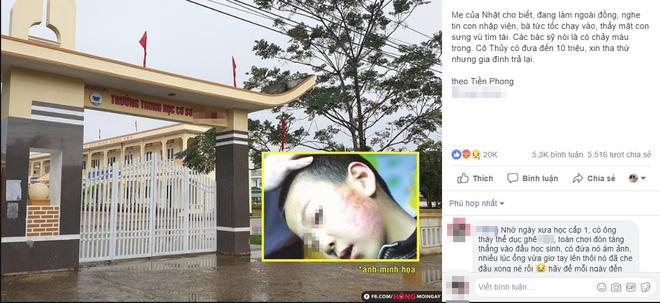 Dân mạng phẫn nộ, truy tìm ra Facebook cô giáo bắt học sinh tát bạn 231 cái-2