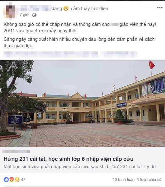 Dân mạng phẫn nộ, truy tìm ra Facebook cô giáo bắt học sinh tát bạn 231 cái-4