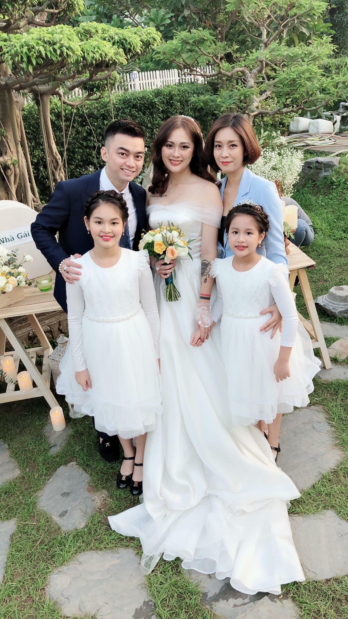 Con trai cơ phó vừa hủy hôn, con gái nghệ sĩ Hương Dung bất ngờ lên xe hoa, nhìn nhan sắc cô dâu ai cũng ngỡ ngàng-2