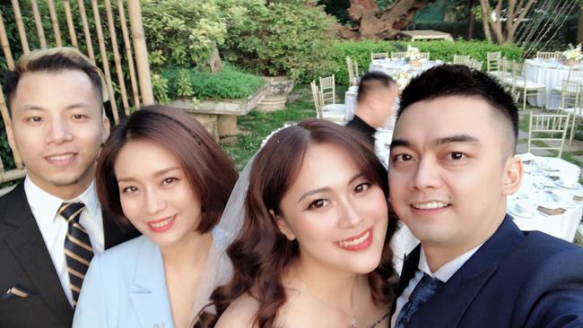 Con trai cơ phó vừa hủy hôn, con gái nghệ sĩ Hương Dung bất ngờ lên xe hoa, nhìn nhan sắc cô dâu ai cũng ngỡ ngàng-4